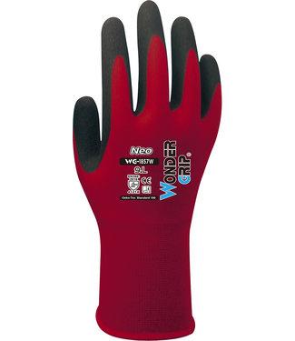 Wonder Grip Neo Handschoenen Rood