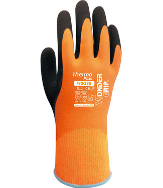 Wonder Grip Wonder Grip Thermo Plus Handschoenen Oranje