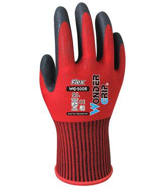 Wonder Grip Flex Handschoenen Rood