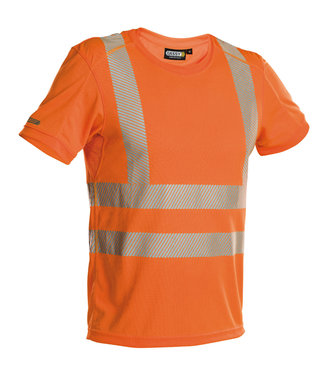DASSY DASSY Carter Reflecterend T-shirt Oranje