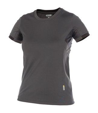 DASSY DASSY Nexus D-Flex Dames T-Shirt Grijs/Zwart