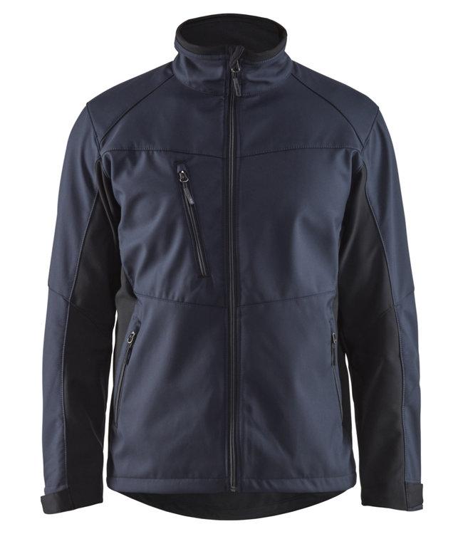 Blaklader Blaklader 4950 Softshell Werkjas Donkerblauw/Zwart