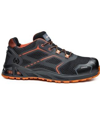 Base Base B1004 K-Move Sneaker Werkschoenen Zwart/Oranje Laag S1P
