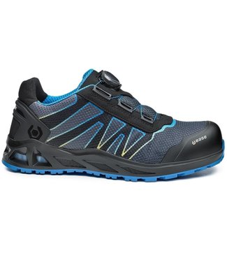 Base Base B1007 K-Energy Sneaker Werkschoenen Boa Grijs/Blauw Laag S3
