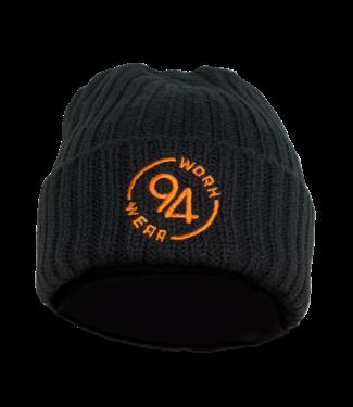 94Workwear 94Workwear Gebreide Muts Zwart