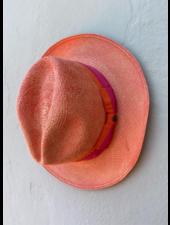 Ecua Andino for Los Enamorados Panama Hat - Orange