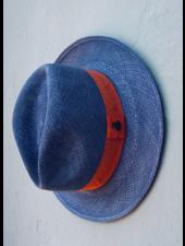 Ecua Andino for Los Enamorados Panama Hat - Blue Jeans