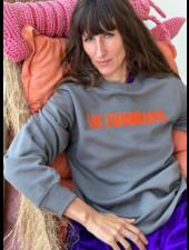 Los Enamorados Unisex Sweater - Grey