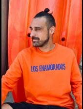 Los Enamorados Unisex Sweater - Orange