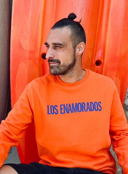Los Enamorados Unisex Sweater - Orange