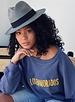 Los Enamorados Embroidered Sweater - Blue
