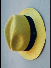 Ecua Andino for Los Enamorados Panama Hat - Yellow