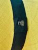 Ecua Andino for Los Enamorados Panama Hat - Yellow with dark green band