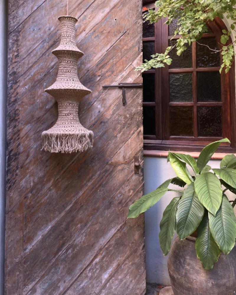 Elpelut for Los Enamorados Fisherman's Lamp - Jute