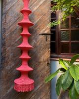 Elpelut for Los Enamorados Fisherman's Lamp - Coral