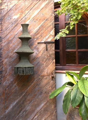 Elpelut for Los Enamorados Fisherman's Lamp - Olive
