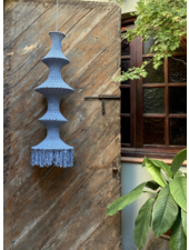 Elpelut for Los Enamorados Fisherman's Lamp - Blue Grey