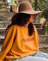 Los Enamorados Embroidered Sweater - Honey