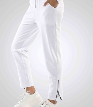 J7339 Ladies Tracksuit Pant ANKLEZIPPER