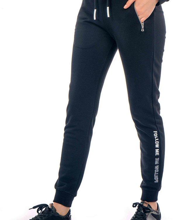 J7321 Ladies Tracksuit Pants with print