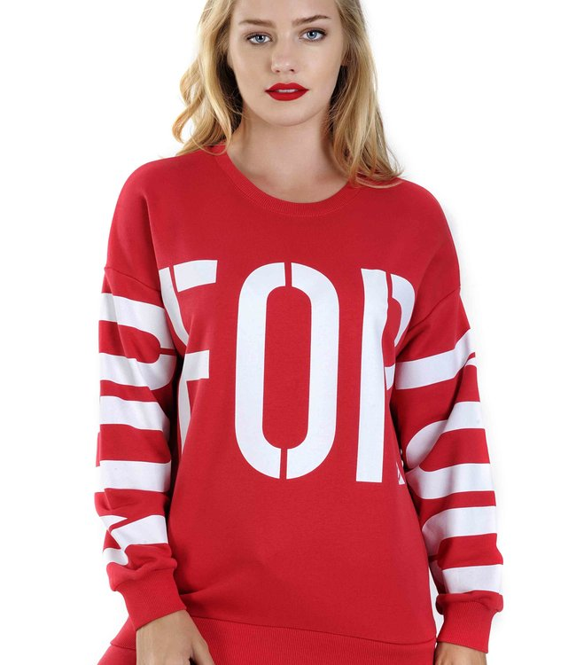 Sweater J6535 print FOR EVER