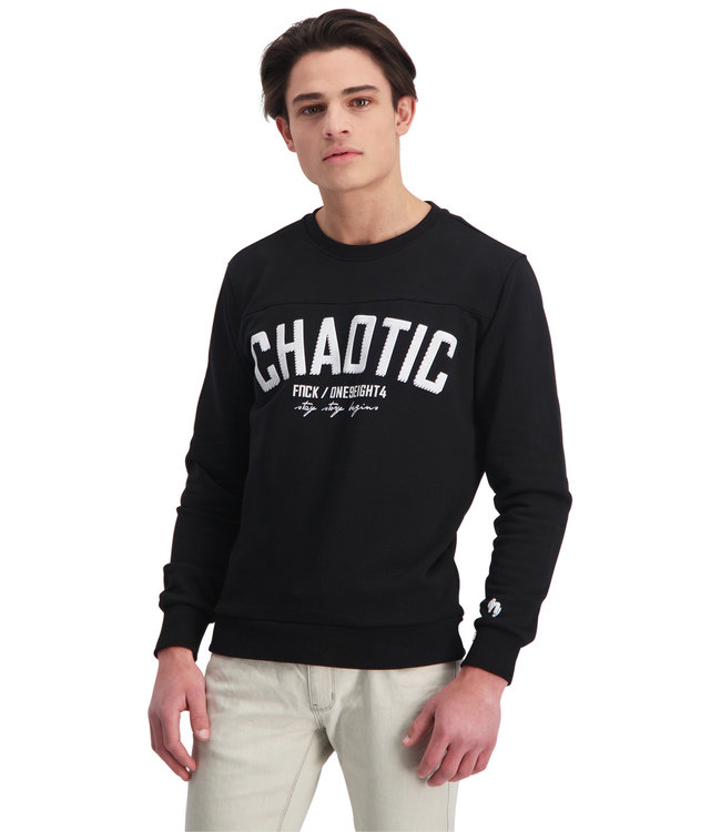 """Sweater CHAOTIC """"Limited Edition"""" Zwart"""