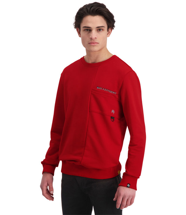 "Sweater DIFFERENCE ""Limited Edition"" Rood"