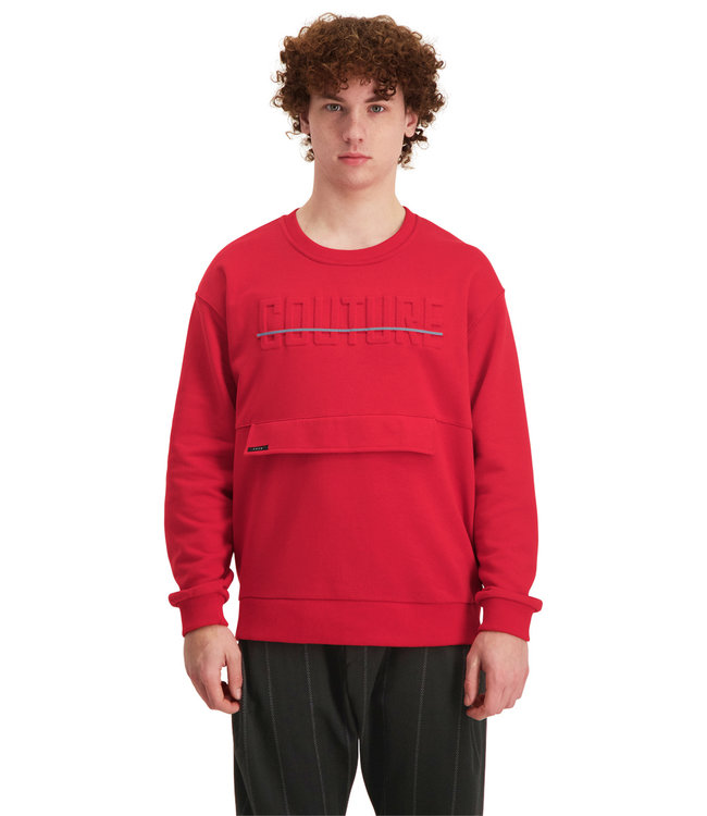 """Sweater COUTURE """"Limited Edition"""" Rood"""
