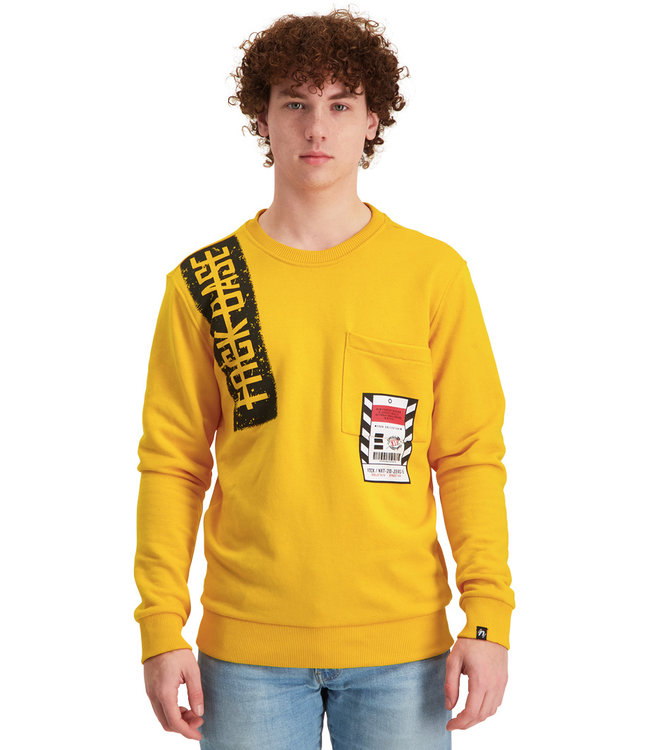 """Sweater NEXT """"Limited Edition"""" Tuscan Geel"""