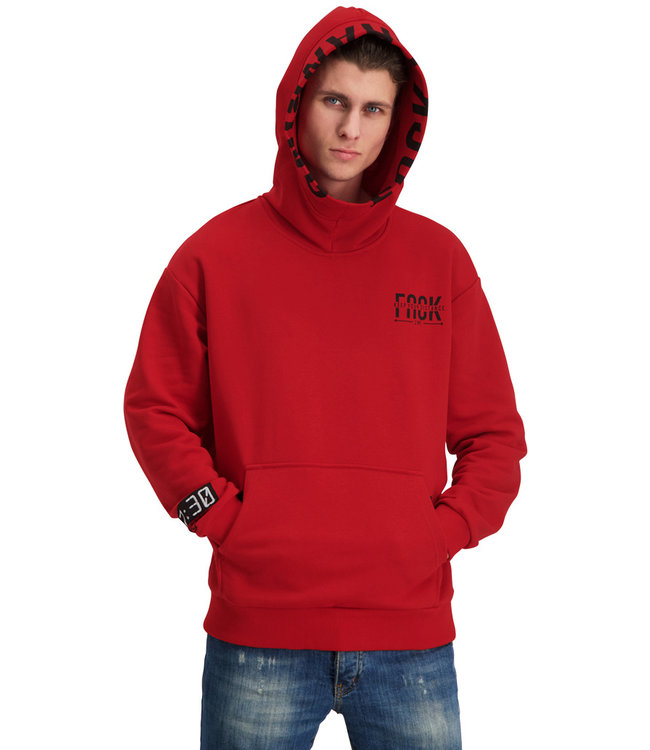 """Hoodie DISTANCE """"Limited Edition"""" Rood"""