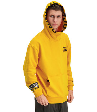 """Hoodie DISTANCE """"Limited Edition"""" Tuscan Geel"""