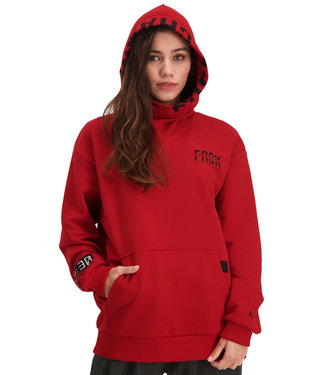 """Hoodie- Unisex DISTANCE """"Limited Edition"""" Rood"""