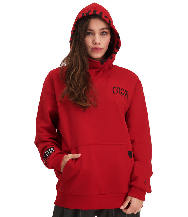 """Hoodie- Unisex DISTANCE """"Limited Edition"""" Red"""