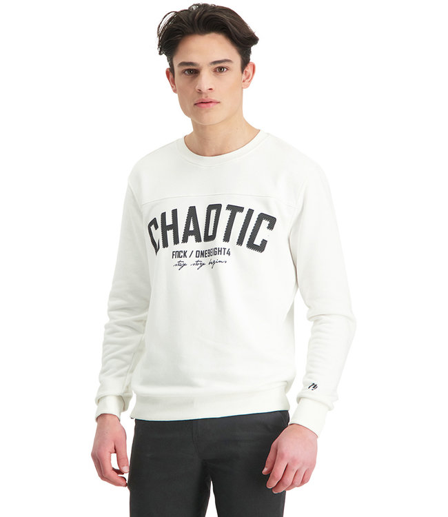 """Sweater CHAOTIC """"Limited Edition"""" Off-White"""