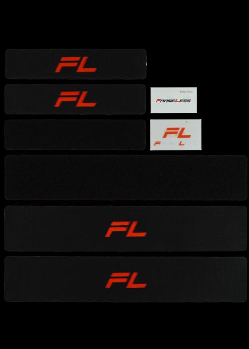FRAMELESS FRAMELESS Set für 2 Fahrzeuge