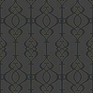 Arthouse behang Vlies Behang | Arthouse |  Zwart | 950604