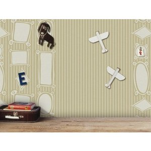 Raffi behang Papier Behang | Raffi Junior | Beige | Kinder | 42199