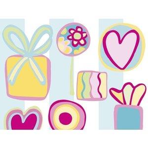 Raffi behang Papier Behang | Raffi Junior |  Snoepjes | Kinder | 40899