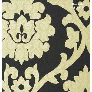 BN behang Vlies Behang | BN Wallcoverings | Goud/Zwart | Bloemen | 45947