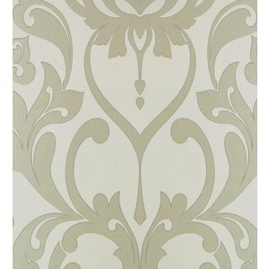 Incognito behang Incognito Beige Barok Behang - IC 16406