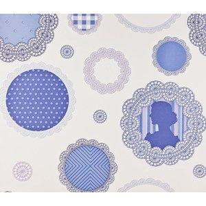 Dutch Wallcoverings Papier Behang | Dutch Wallcoverings | Paars | Print | 1192-5