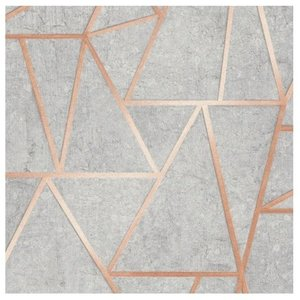 Trend behang Vinyl Behang | Trend | tapety | Grijs | Geometrisch | 3111202