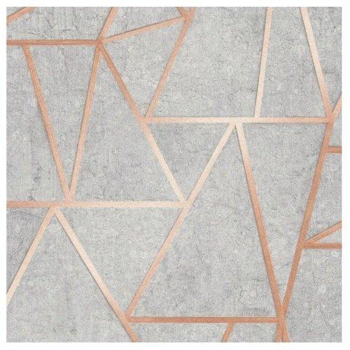 Trend behang Trend tapety Geometrisch Grijs Behang 3111202