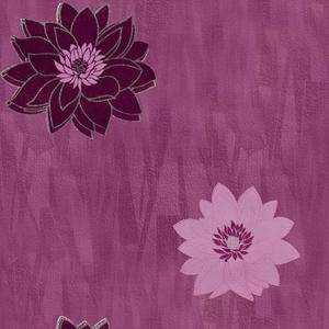Trend behang Trend Paars Bloemen Behang 3111217