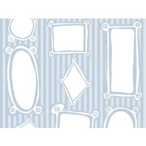 Raffi behang Papier Behang | Raffi Junior  | Blauw | Kinder | 42099