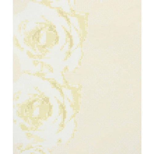 Annet van Egmond behang Shadows on the wall by Annet van Egmond Beige Bloemen Behang 45642
