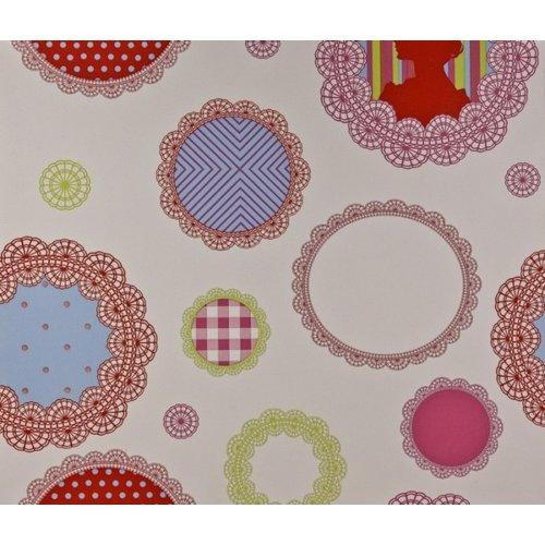 Dutch Wallcoverings Dutch Wallcoverings Rond Behang 1192-4