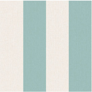 Juvita Behang Non Woven Behang | Juvita Fantasia | Blauw  Strepen | 6617-15