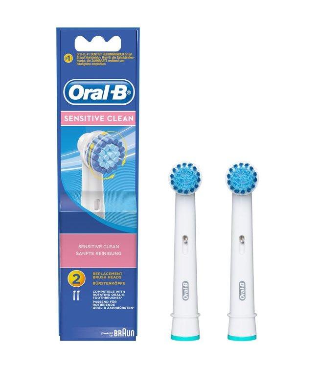 Oral-B Oral-B opzetborstels Sensitive Clean - 2 stuks