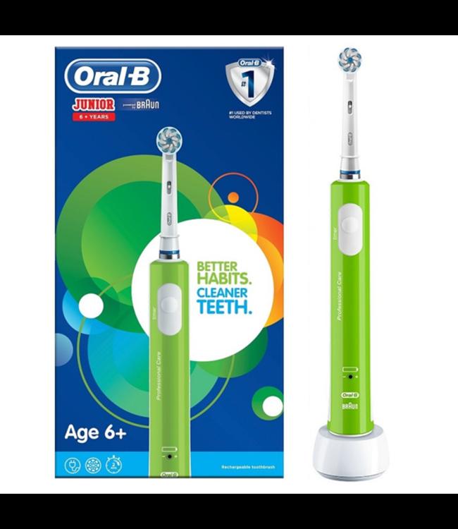 Oral-B Oral-B Junior 6+ tandenborstel - Groen